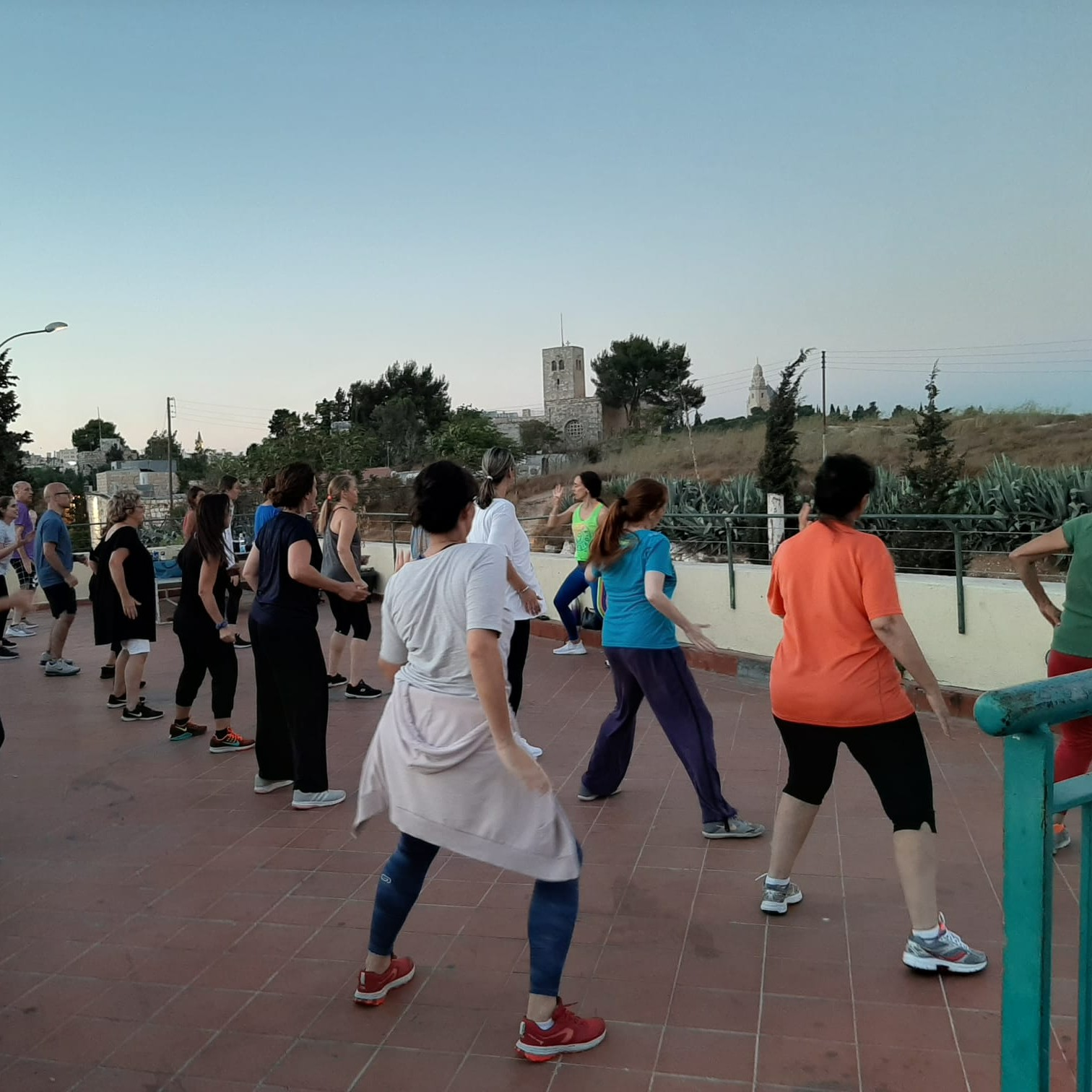 זומבה בירושלים - התחנה הראשונה
