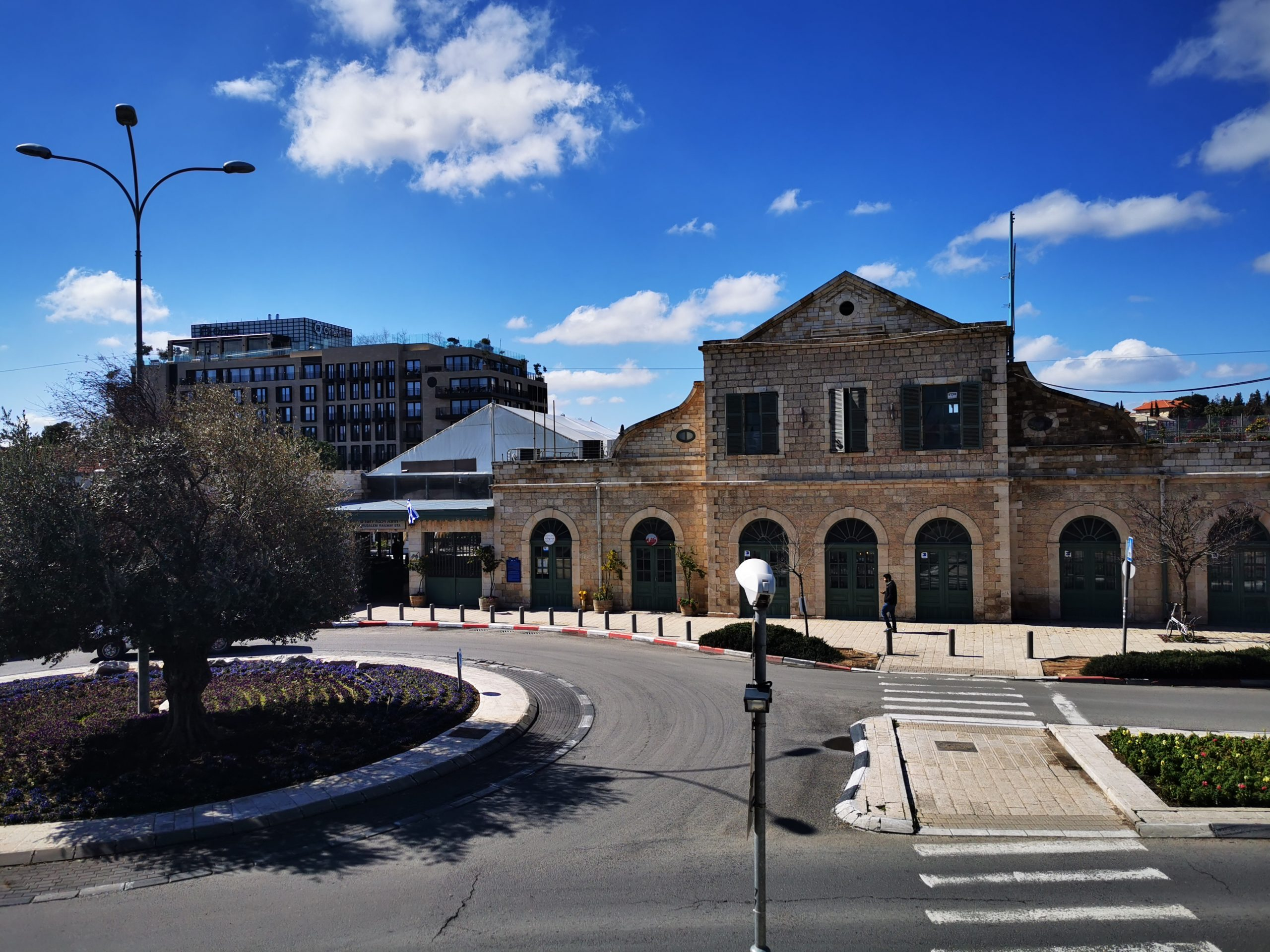 חזית התחנה הראשונה ירושלים
