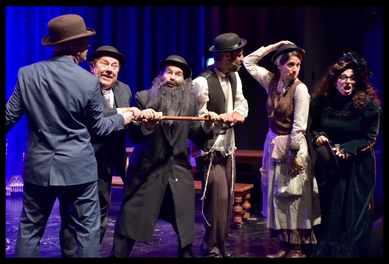 תיאטרון אספקלריא מתחם התחנה הראשונה ירושלים - יוסילי זמיר
