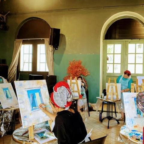 סדנאות ציור עם גילה סלוטין